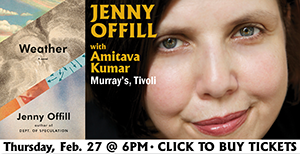 Get Tickets: Jenny Offill @ Murray's