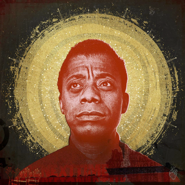 James Baldwin art