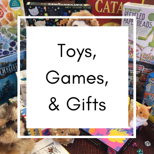 Toys, Games, & Gifts